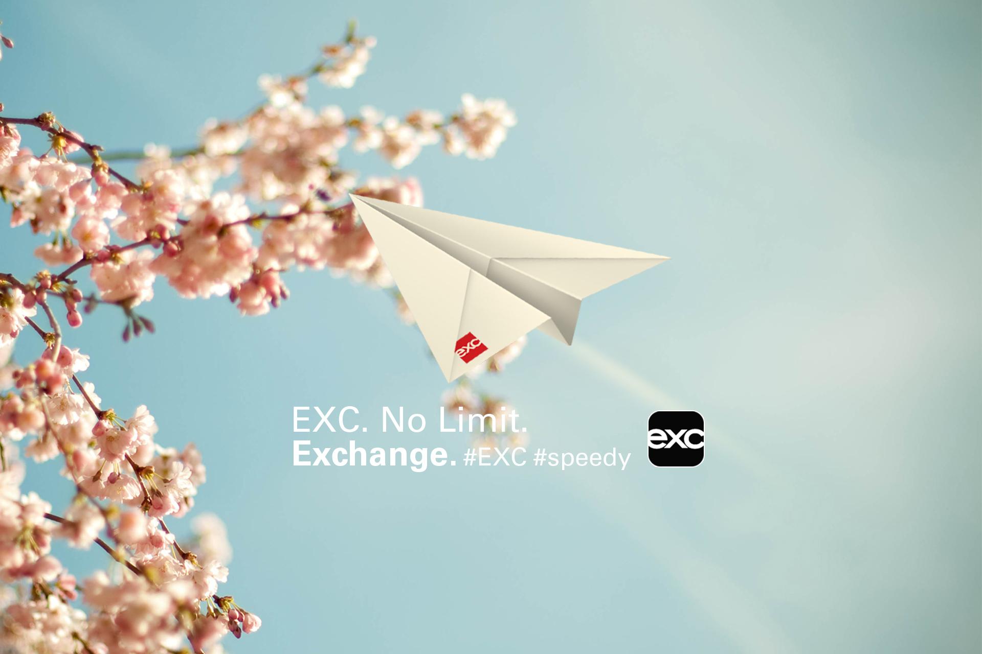 EXC. No Limit. #Speedy #PaperPlane #Spring