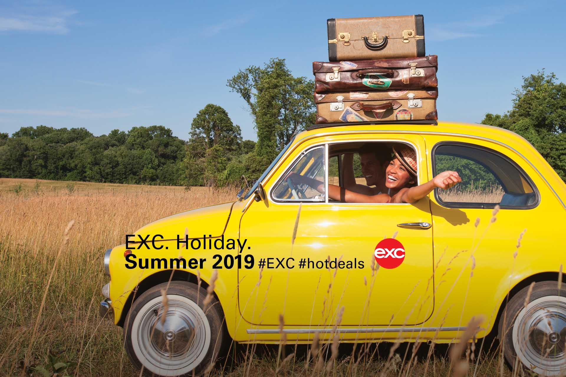 #Holiday #Summer 2019 #yellow #car